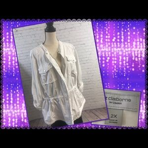 Liz Claiborne Woman Cotton Anorak 2X